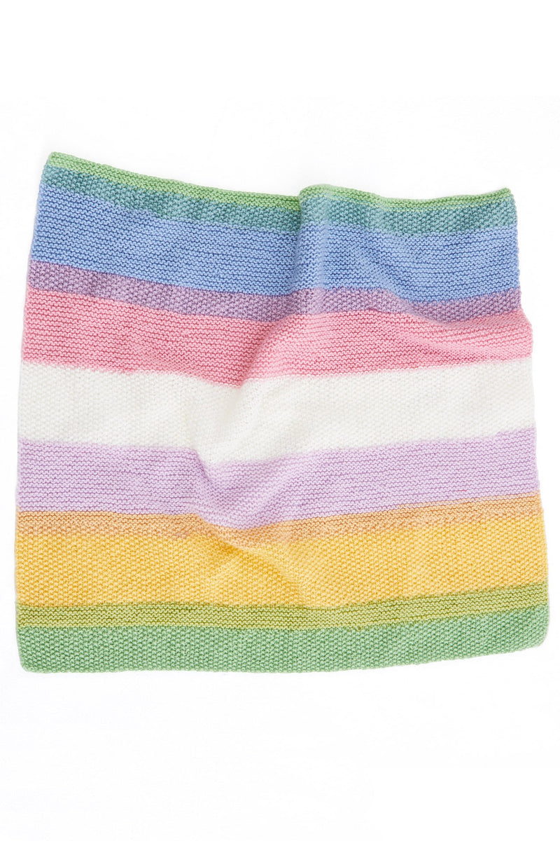 Color Play Blankie (Knit)
