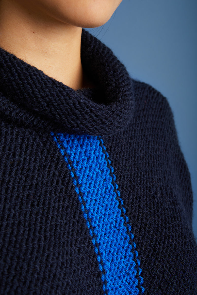 Cowl Neck Pullover (Knit)