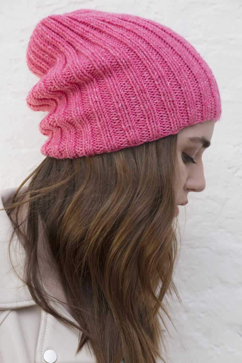 Girls Ribbed Hat (Knit)