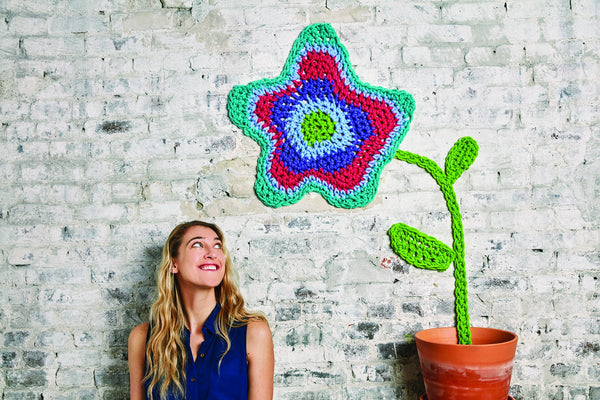 London Kaye Big Flower (Crochet)