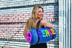 London Kaye Peace Bag (Crochet)