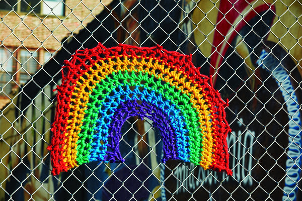 London Kaye Big Rainbow (Crochet)