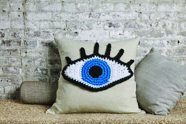 London Kaye Medium Eye Pillow (Crochet)
