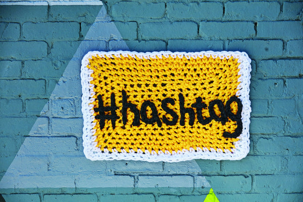 London Kaye #Hashtag (Crochet)