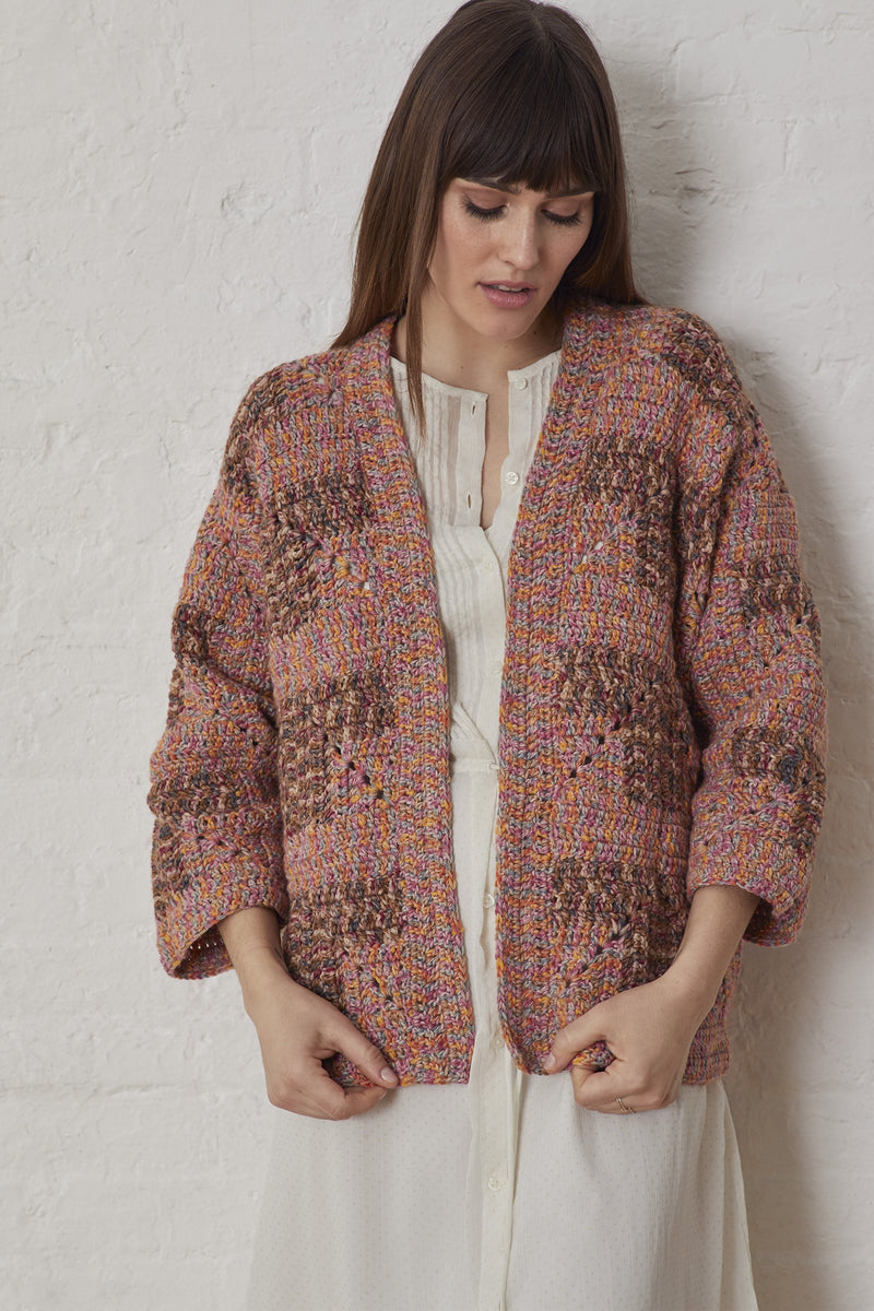Popham Beach Cardigan (Crochet)