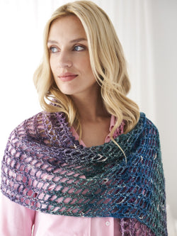 Sparkle Shawl (Crochet)