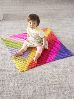 Granny Triangles Afghan (Crochet)