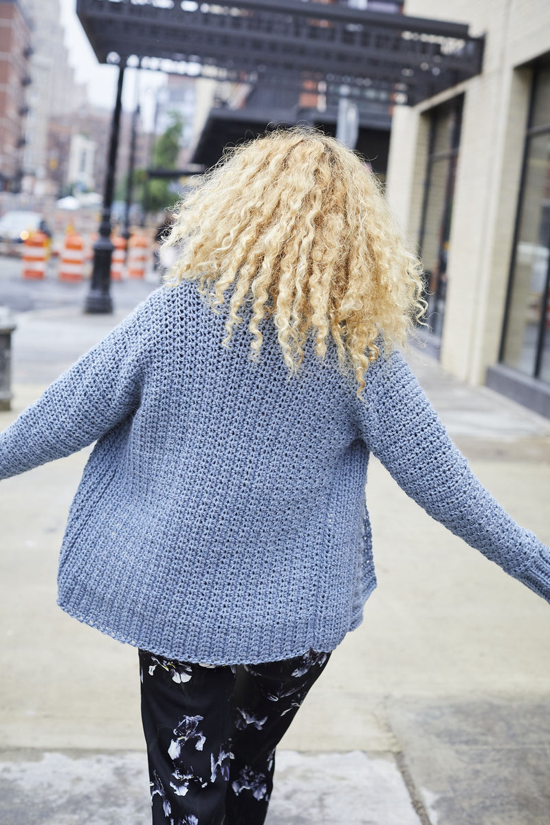 Bridgeport Cardigan (Crochet)