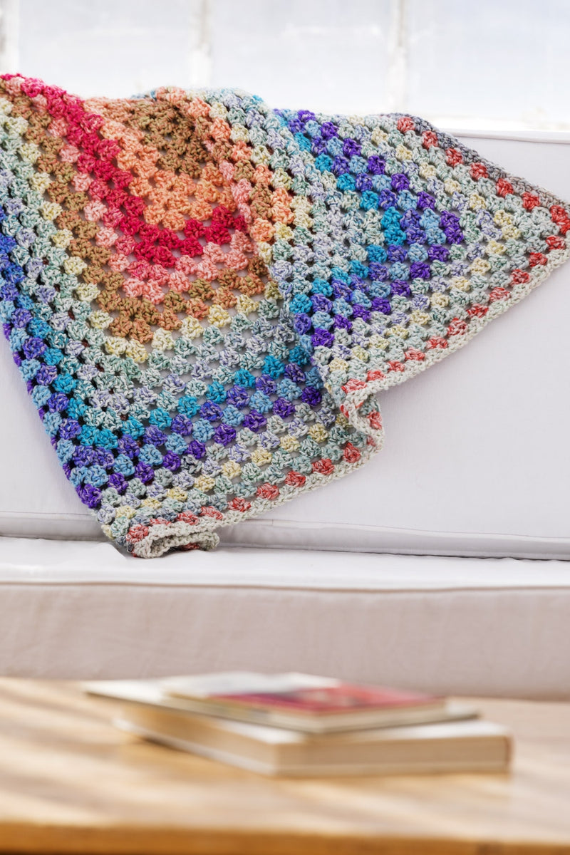 Bright and Breezy Afghan (Crochet)