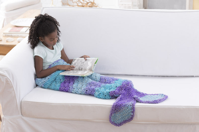 Mini Mermaid Cocoon (Crochet)