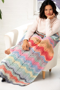 Sky Harbor Ripple Afghan (Crochet)