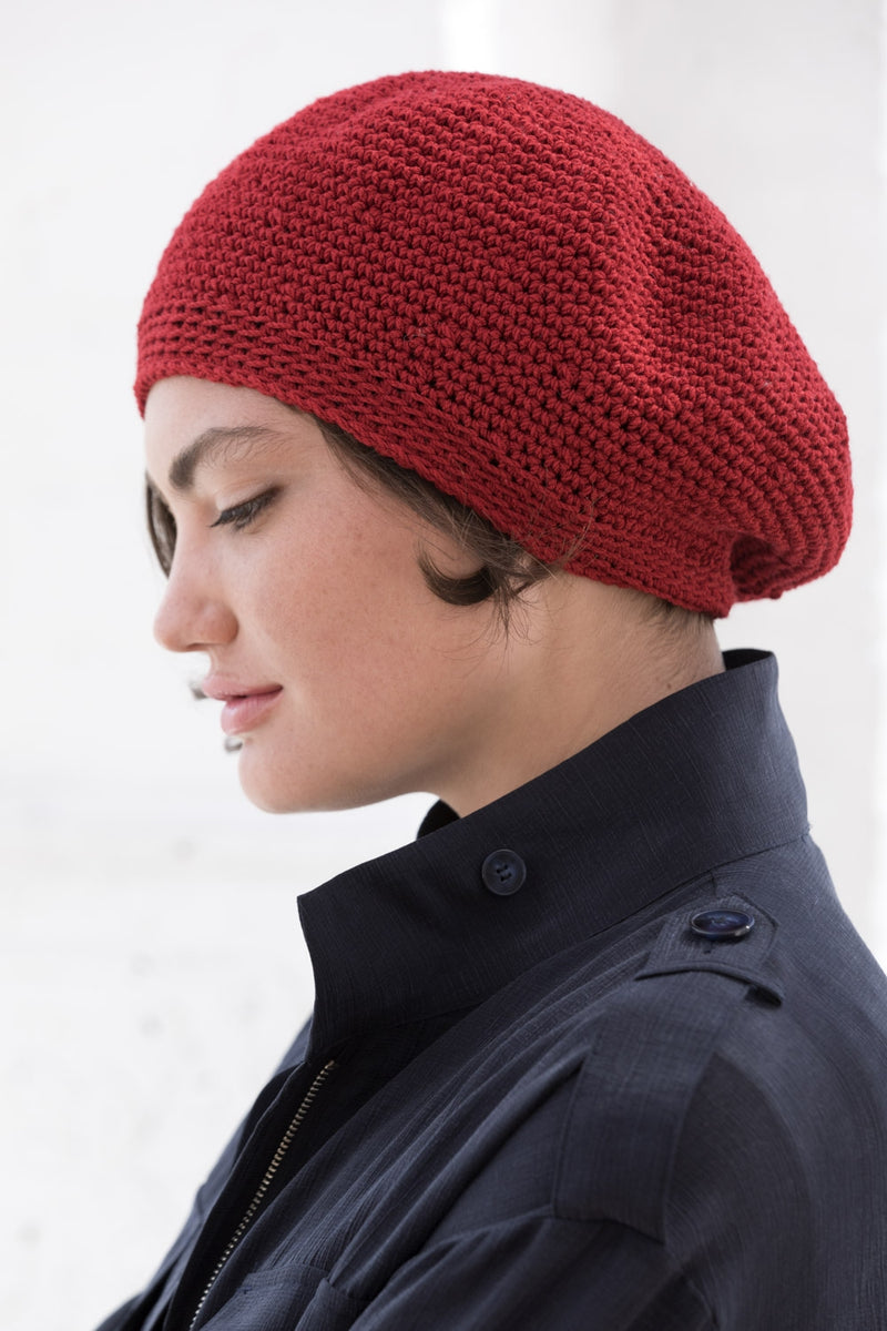 St. Germain Beret (Crochet)