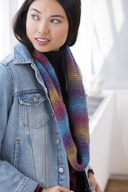 Cowl with a Twist (Knit)