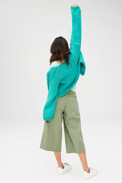 Colonia Cropped Cardi (Knit)