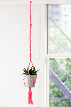 Knotted Plant Hanger (Crafts)
