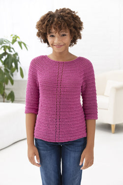 Light And Easy Pullover (Crochet)