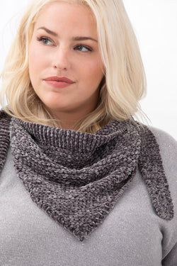 Lina Tied Scarf (Knit)