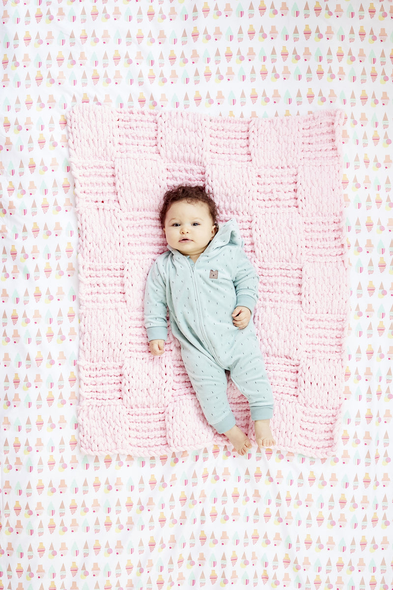 Checkerboard Baby Blankie