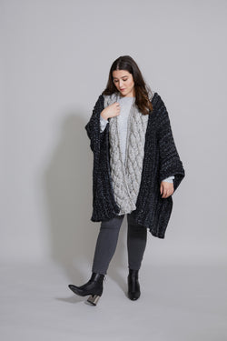 Cloud Cover Ruana (Knit)
