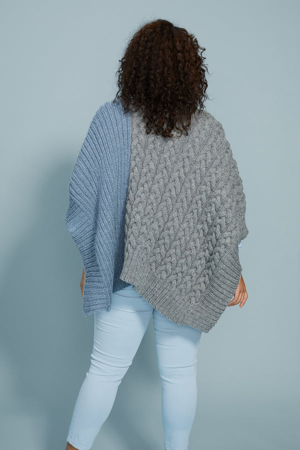 Lane Poncho (Knit)