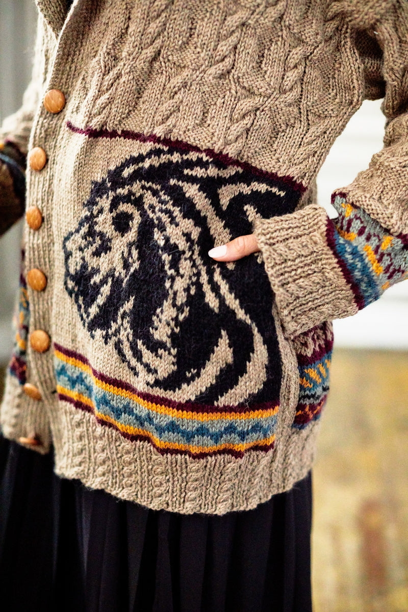 Lion King Cardigan (Knit)
