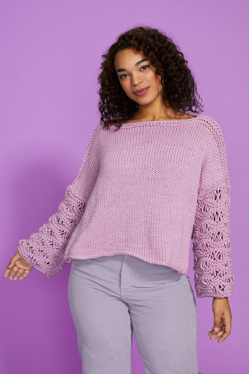 Sleeve Interest Pullover (Knit)