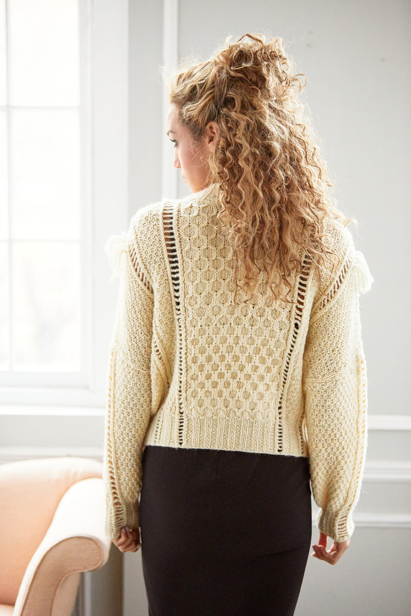 Freeform Texture Pullover (Knit)