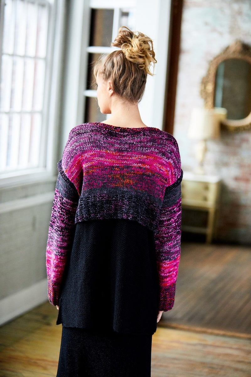 Ombre Layered Tunic (Knit)