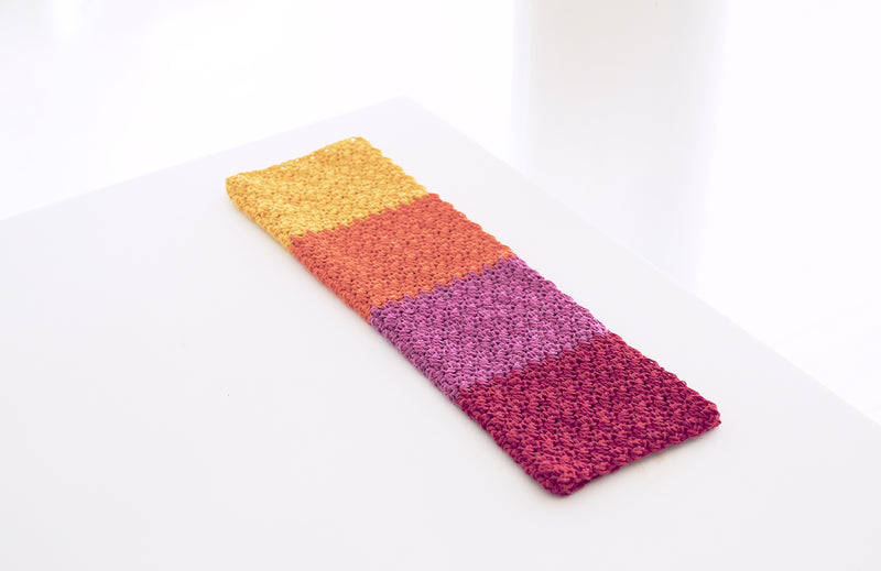 Multi Stripe Dish Towel (Crochet)