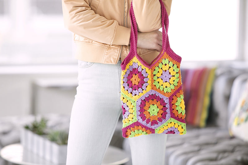 Kaye Market Bag (Crochet)