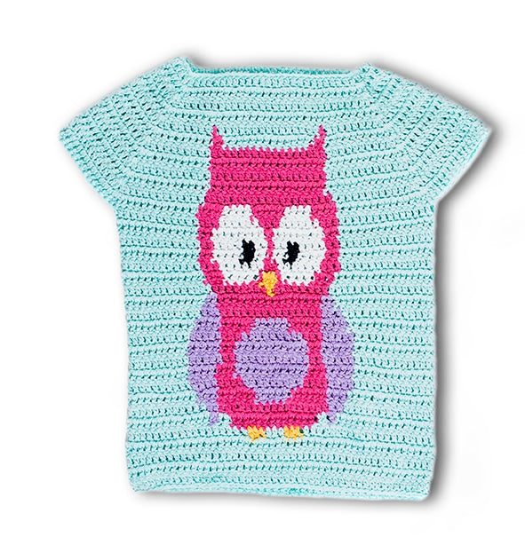Crochet Kit - Bedford Owl Sweater