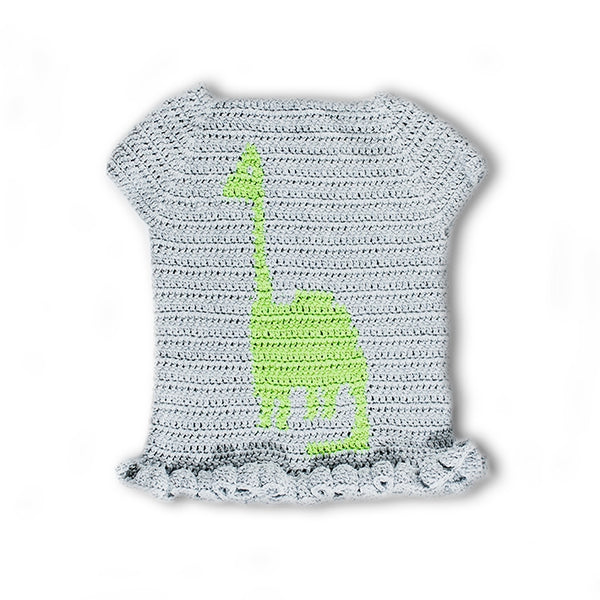 Crochet Kit - Driggs Dinosaur Sweater