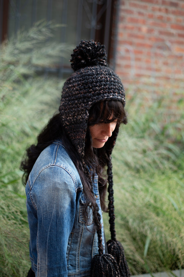 Sycamore Earflap Hat (Crochet)
