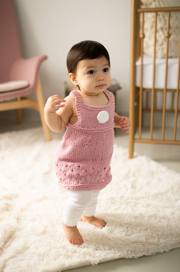 Lilybelle Flower Dress (Knit)