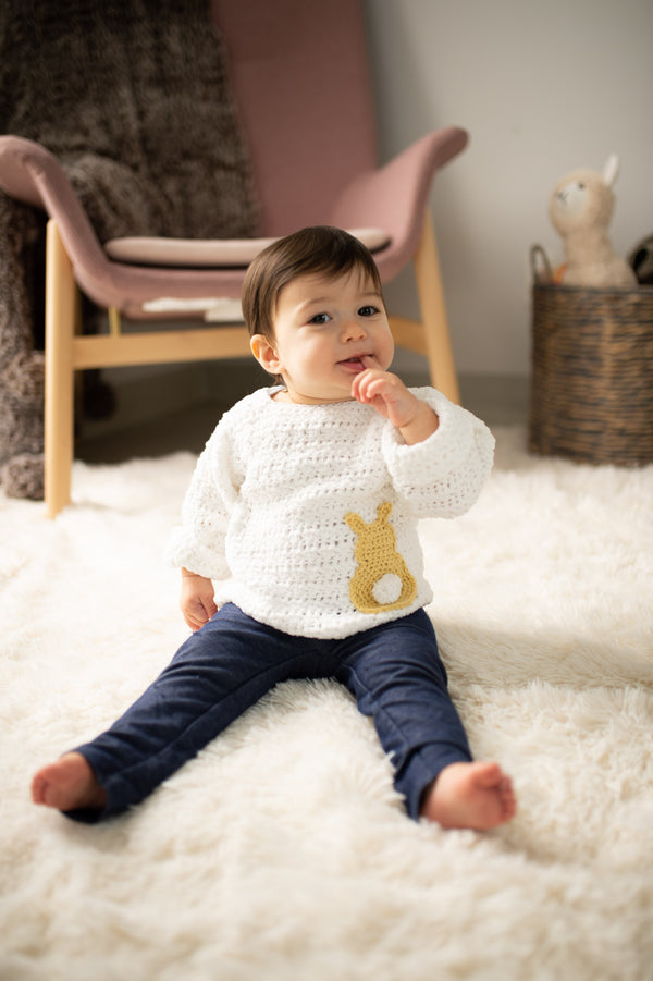 Cottontail Pullover (Crochet)