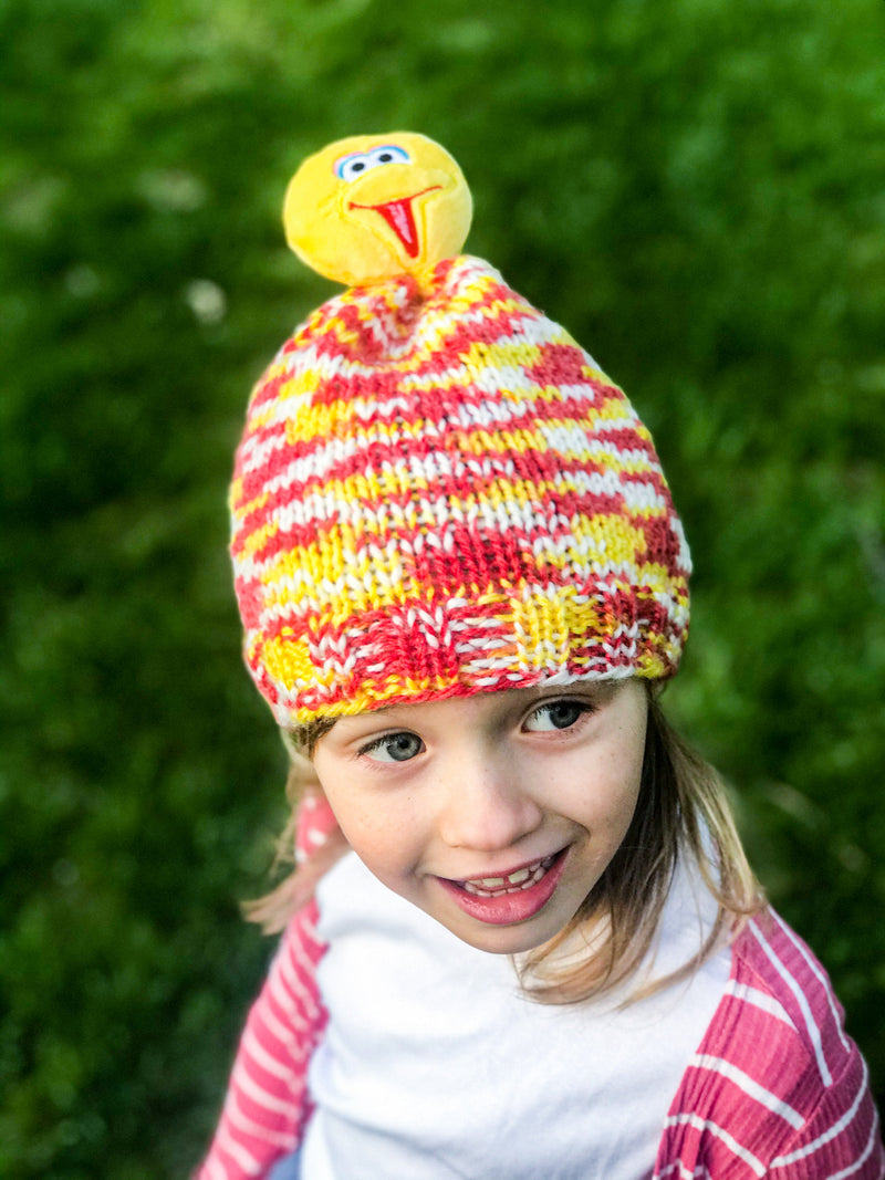 Big Bird Knit Hat