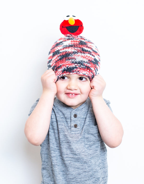 Knit Elmo Hat