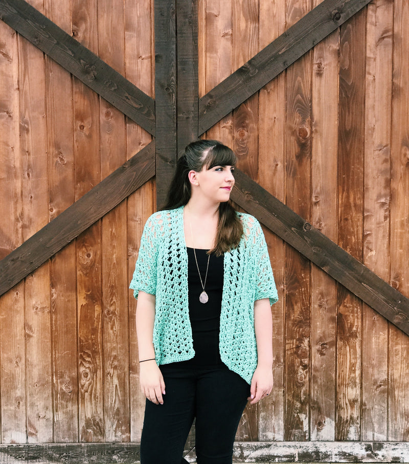 Crochet Kit - Laikini Cardigan