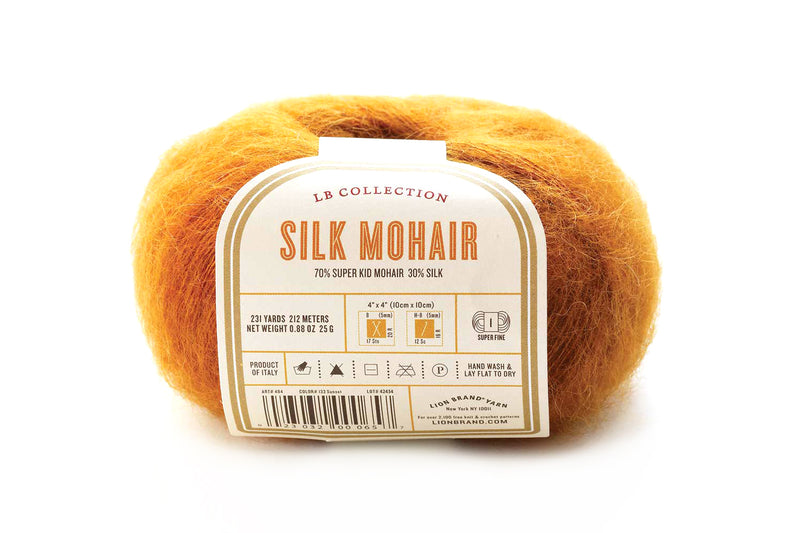 LB Collection® Silk Mohair Yarn -  Discontinued