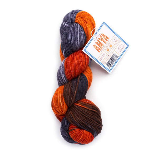 LB Collection® Hand-Dyed Superwash Merino Yarn