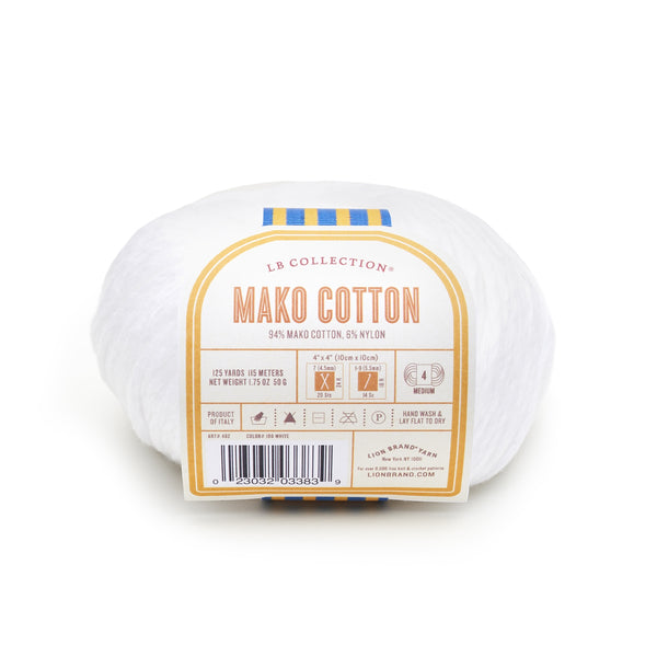 LB Collection® Mako Cotton Yarn