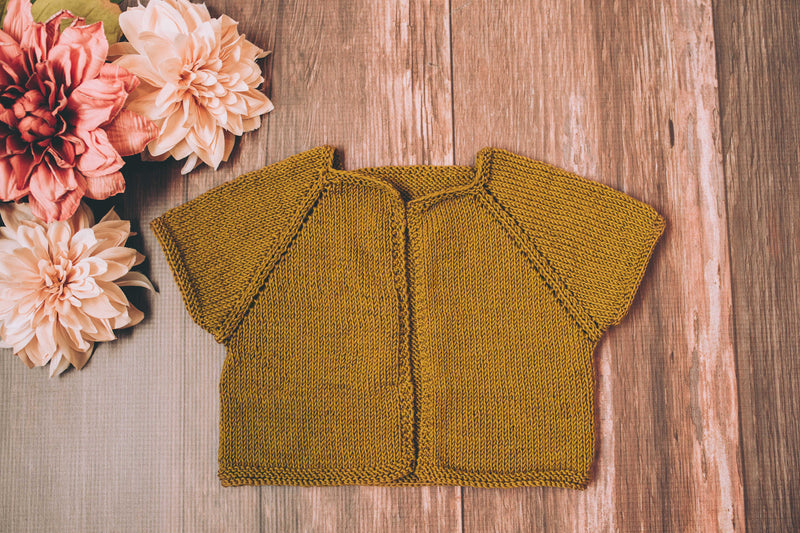 Betsey Baby Cardigan (Knit)