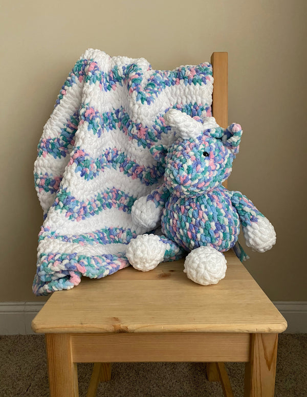 Unicorn Blanket (Crochet)