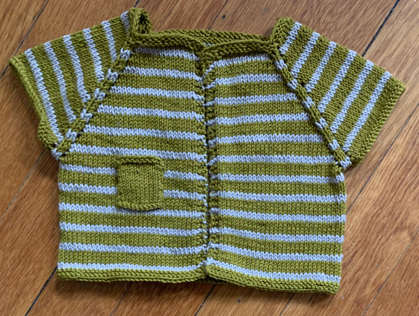 Bridgette Baby Cardigan (Knit)