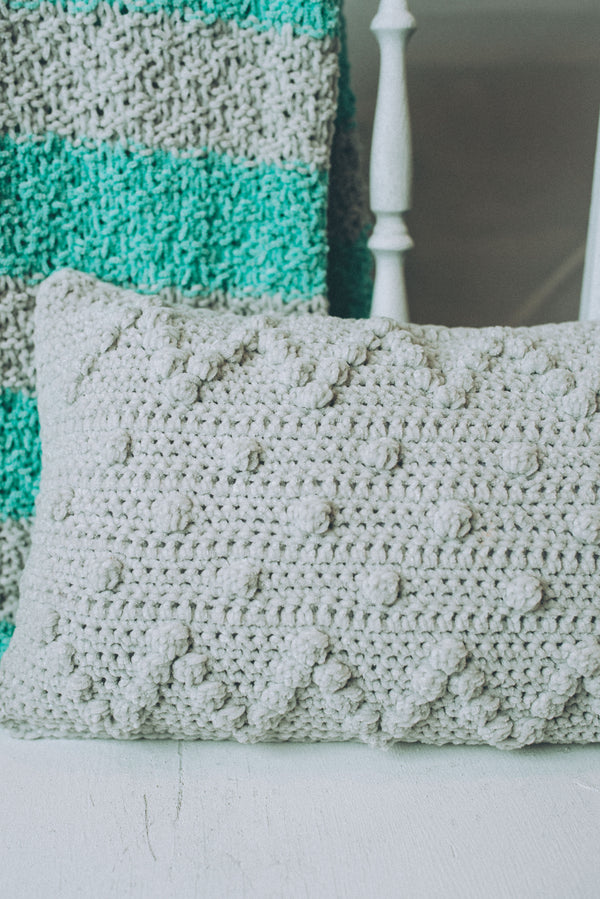 Car Seat Pillow (Crochet)