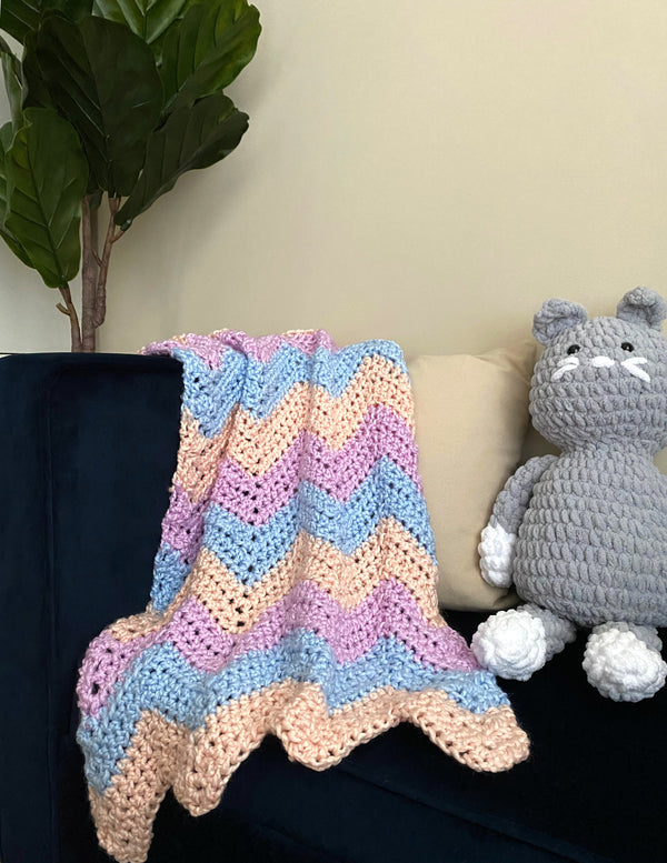 Happy Days Blankie (Crochet)