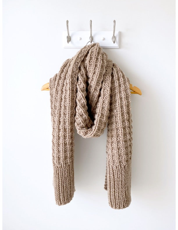 Weekend Brunch Scarf (Knit)
