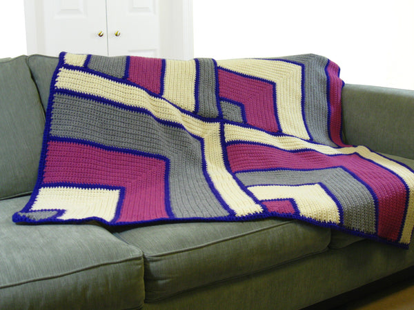 The Magic Miters Throw (Crochet)