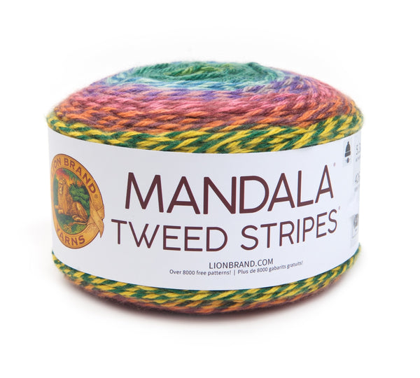 Mandala® Tweed Stripes® Yarn
