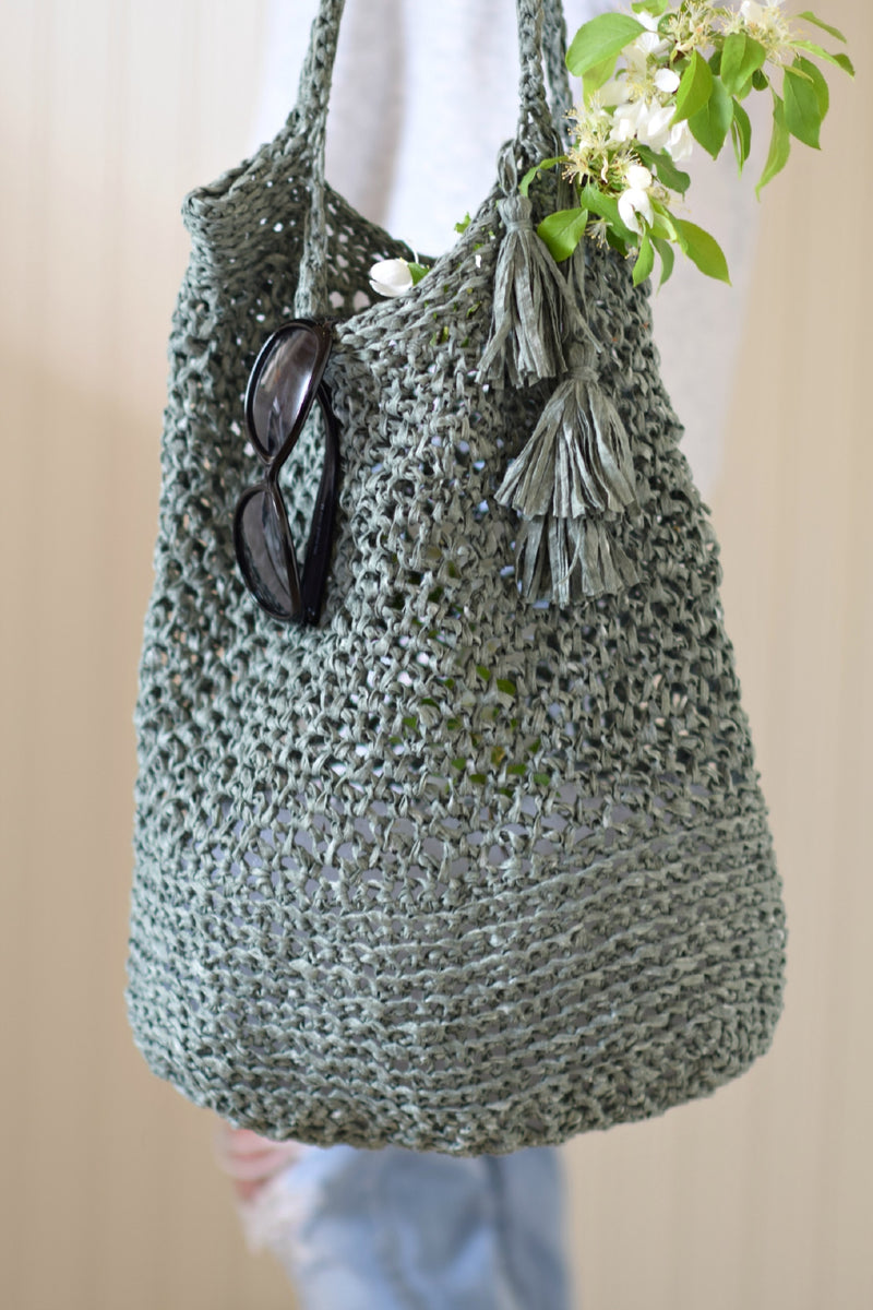 Crochet Kit - Palmetto Tote